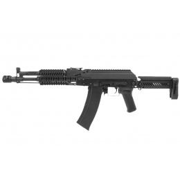 LCT ZK-104 AK AEG Rifle w/ Folding Stock (Black)