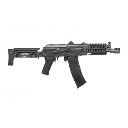 LCT ZKS-74UN AK AEG Rifle w/ Folding Stock (Black)