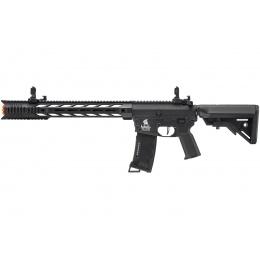 Lancer Tactical Gen 3 Interceptor SPR Airsoft M4 AEG Rifle (Color: Black)