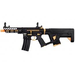 Lancer Tactical Enforcer NEEDLETAIL Skeleton AEG [Low FPS] w/ Alpha Stock (Gold)