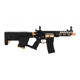 Lancer Tactical Enforcer NEEDLETAIL Skeleton AEG w/ Alpha Stock, Gold