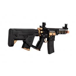 Lancer Tactical Enforcer NEEDLETAIL Skeleton AEG w/ Alpha Stock, Gold