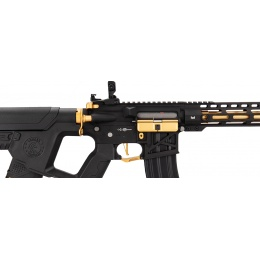 Lancer Tactical Enforcer BLACKBIRD Skeleton AEG w/ Alpha Stock, Gold