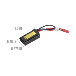 LT7.4V300F25CD LiPo 7.4V 300mAh Battery 25C for HPA