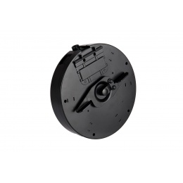 Double Eagle M811 M1A1 Tommy Gun Drum Magazine (Black)
