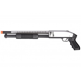 UKARMS P388 Spring Single Shot Airsoft Shotgun (SILVER)