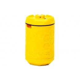 Z-Parts ERAZ Rotative 100 BBs Green Gas Airsoft Grenade (Color: Yellow)