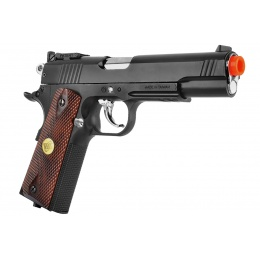 WG Sport 601 1911 CO2 Non-Blowback Airsoft Pistol W/ Accessory Rail (Black)