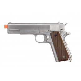 M1911 Metal GBB Pistol - CO2 Version (Chrome)