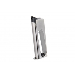 WE Tech Gen2 Full-Metal 1911 GBB Pistol Magazine, Chrome