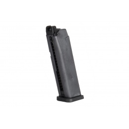 WE Tech G17 / G18 25rd Nylon Polymer Gas Blowback Magazine (Black)
