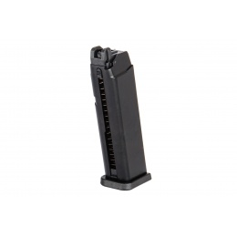 WE Tech G17 / G18 50rd Gas Metal Pistol Magazine, Black