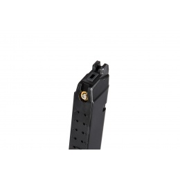WE Tech G17 / G18 25rd Metal Gas Blowback Magazine (Black)