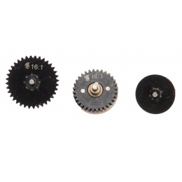 Lancer Tactical 16:1 ratio steel CNC gears set