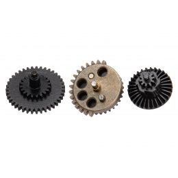 18:1 Ratio Steel CNC Gear Set w/ Integrated Bearings