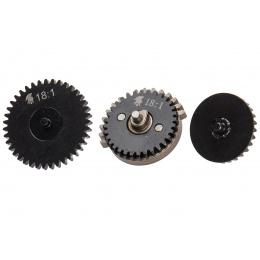 18:1 Ratio Steel CNC Gear Set w/ Integrated Bearings