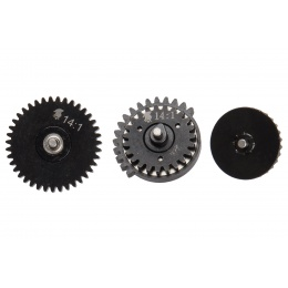 Lancer Tactical 14:1 High Speed Steel CNC Bearing Gear Set