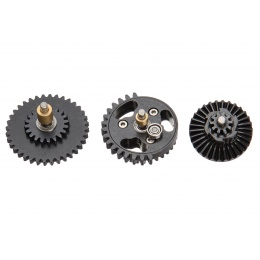 Lancer Tactical 16:1 High Speed Steel CNC Bearing Gear Set