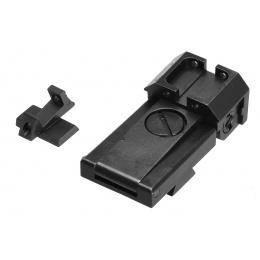 Lancer Tactical Steel CNC Sight Set for Hi-CAPA Gas Pistol