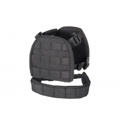 Lancer Tactical 1000D Nylon Children's Tactical Molle Vest w/ Battle Belt [XS] (Black)