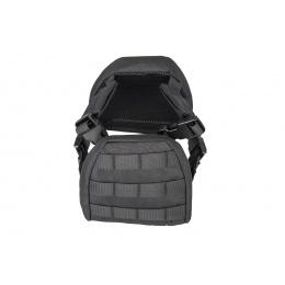 Lancer Tactical 1000D Nylon Children's Tactical Molle Vest w/ Battle Belt [XS] (Black)