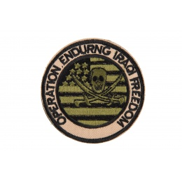 AMA Operation Enduring Iragi Freedom Morale Patch - TAN / OD