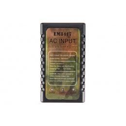AMA AC Input 2X/3S LIPO 7.4V-11.1V Balance Charger - BLACK