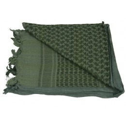 AMA Tactical Airsoft Cotton Shemagh - FOLIAGE GREEN