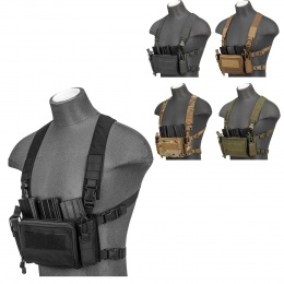 G-Force Minimalist Tactical Chest Rig - Black