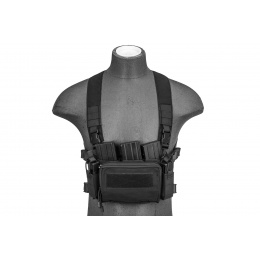 WoSport Minimalist Tactical Chest Rig - Black