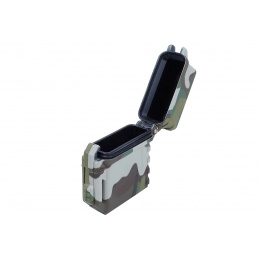 WST Tactical Lighter Case for Zippo Lighters (Black Camo)