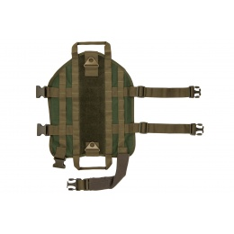 Tactical Training Molle Dog Harness (Size: Large)