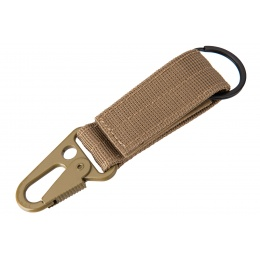 Tactical Wristlet Keychain (Tan)