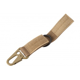 Tactical Wristlet Keychain (Tan)