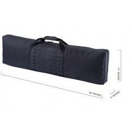 WoSport Laser Molle 39 Inch Gun Bag (Color: Black)