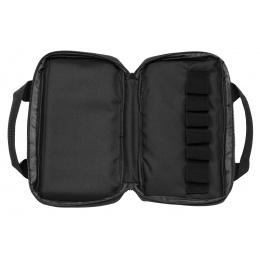 WST 13.8 Inch Laser Molle Pistol Bag (Black)