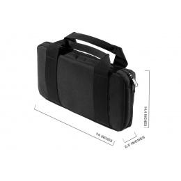 WoSport 13.8 Inch Laser Molle Gun Bag (Color: Black)
