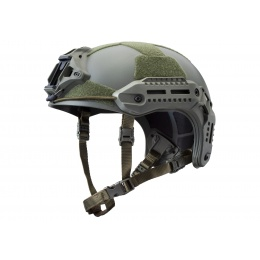 WoSport MK Protective Airsoft Tactical Helmet (Color: OD Green)