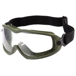 WoSport Ant-Shaped Goggles (Color: OD Green)