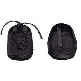 WoSport Dual Purpose Tactical Backpack & Vest (Color: Black)