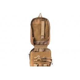 WoSport Dual Purpose Tactical Backpack & Vest (Color: Tan)