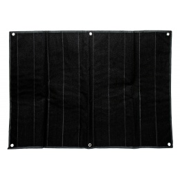 Hook & Loop Patch Wall / Patch Holder (Color: Black / Large)