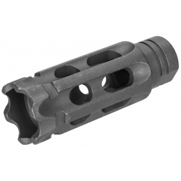 Atlas Custom Works Mini Talon Breacher Muzzle Brake Airsoft Flash Hider - BLACK