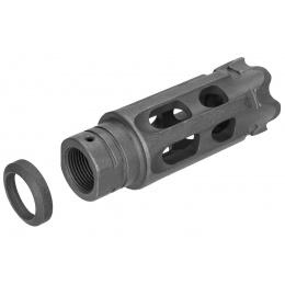 Atlas Custom Works Mini Talon Breacher Muzzle Brake Airsoft Flash Hider - BLACK