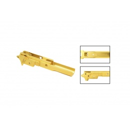 Airsoft Masterpiece Infinity Style Aluminum Advance Frame (Gold)