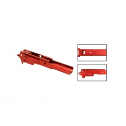 Airsoft Masterpiece Infinity Style Aluminum Advance Frame (Red)