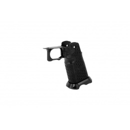 Airsoft Masterpiece Aluminum Grip for Hi-Capa Type 20 Stac (Black)