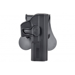Amomax Gen2 Rigid Hard Shell Holster for Glock 17 - BLACK