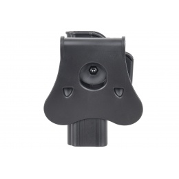 Amomax Gen2 Rigid Hard Shell Holster for Glock 17 - BLACK