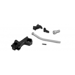 Airsoft Masterpiece CNC Steel Hammer & Sear Set for Marui Hi-Capa [S Style Hex]